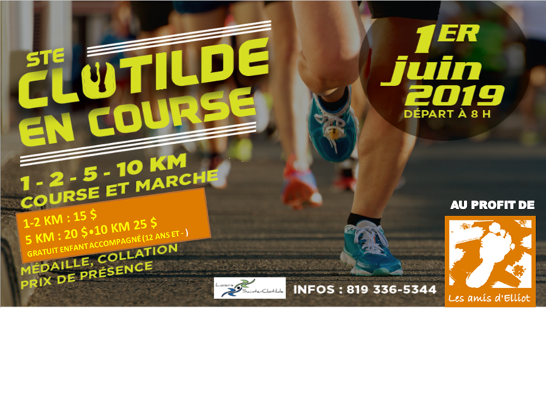 Ste-Clotilde en course